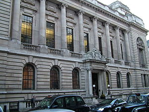 Institution of Civil Engineers - The Institution's headquarters at One Great George Street in London