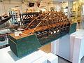 Instructiemodel van geimproviseerde bamboebrug uit het voormalig Nederlands Indie rond 1935, Geniemuseum, Vught.JPG