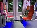 Intérieur Train Francilien Gare Haussmann St Lazare Paris 5.jpg