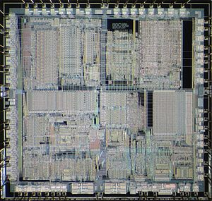 Intel 80186 - Die of Intel 80C186.