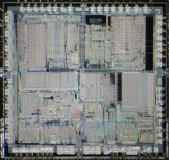Intel 80186 - Die of Intel 80C186.