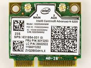 Centrino - Intel Centrino Advanced-N 6205