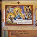 Interieur, kruiswegstatie nummer 14, tegen zijmuur - Cuijk - 20341900 - RCE.jpg