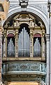 Interior of Chiesa dei Gesuiti (Venice) - right transept - Organ of the right transept.jpg