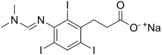 Ipodate sodium chemical compound