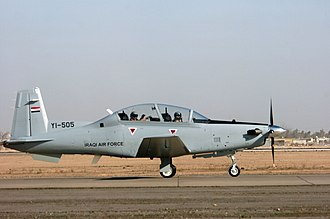 Iraqi Air Force - An Iraqi Air Force T-6A Texan II