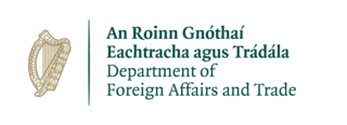 Department of Foreign Affairs and Trade (Ireland) Runs the diplomatic and trade relations of Ireland with other states