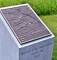 Irish Peace Park, Messines 1917 Battle plaque.jpg