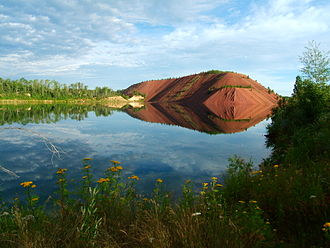 Economy of Minnesota - Iron Range near the Mesabi Trail