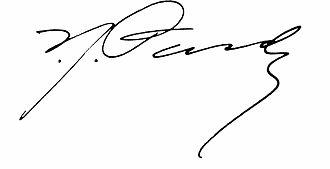 Isaac José Pardo - Image: Isaac J Pardo signature
