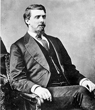 Isaac Parker - Photo of Isaac Parker taken between 1860 and 1865