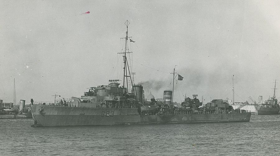 HNLMS Isaac Sweers