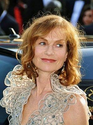 Français : Isabelle Huppert au festival de Cannes.