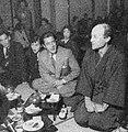 Isamu Noguchi,Toshiro Mifune,1952,Tokyo,Photograph taken by Jun Miki.jpg