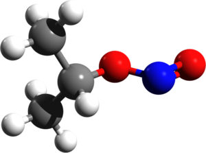 Isopropyl nitrite - Image: Isopropyl nitrite 3d structure