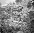 Israël 1948-1949; Peki'in. Volgens de overlevering bevindt zich in Peki'in de schuilplaats waar Rabbi Shimon bar Yochai en zijn zoon zich gedurende 13 jaar verstopten voor de Romeinen. 255-0120.jpg