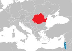 Israel-Romania locator.png