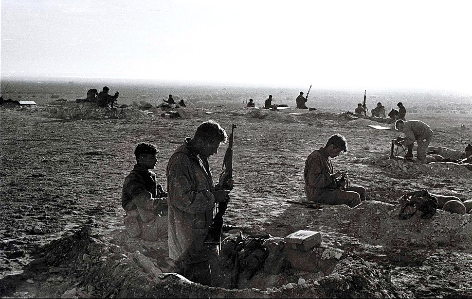 Israeli troops in sinai war