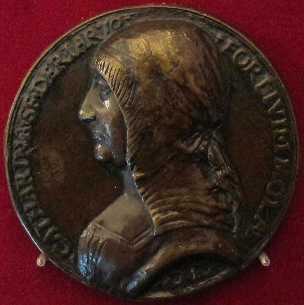 1488 meaning - File Italia Caterina Riario Di Forl Riproduzione Della Medaglia Del 1488 Ca Jpg
