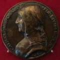 Italia, caterina riario di forlì, riproduzione della medaglia del 1488 ca..JPG