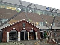 Itoigawa Station (South Entrance) 20150122.JPG