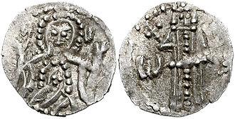 Ivan Shishman of Bulgaria - A silver coin of Ivan Shishman.