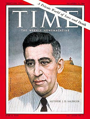 J. D. Salinger - Salinger on the cover of Time (September 15, 1961)