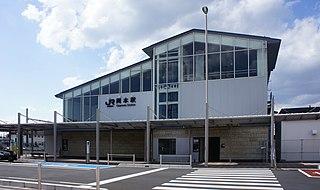 Okamoto Station (Tochigi) Railway station in Utsunomiya, Tochigi Prefecture, Japan