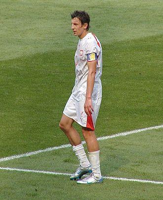 Jacek Bąk - Bąk playing for Poland in 2006