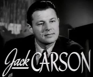 Jack Carson - Image: Jack Carson in The Hard Way trailer