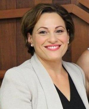 Deputy Premier of Queensland - Image: Jackie Trad 2