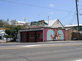 Jackson, California - Historic Firehouse, Downtown