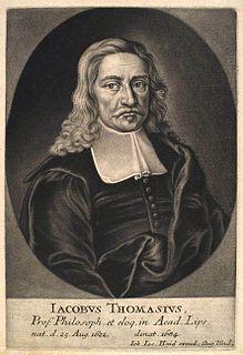 Jakob Thomasius German philosopher