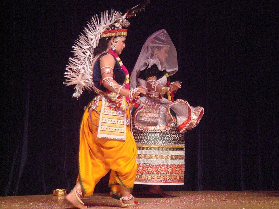 Jagoi Manipuri dance 2