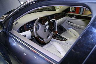 Jaguar XJ (X350) - Interior