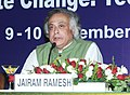 "Jairam Ramesh briefing the media, at the conclusion of Ministerial Dialogue on ""Climate Change- Technology Mechanism"", in New Delhi on November 10, 2010.jpg"
