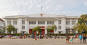 Fatahillah Square - Kota Post Office at Fatahillah Square in 2015