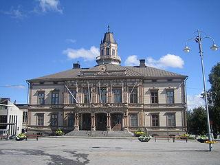 Jakobstad Town in Ostrobothnia, Finland