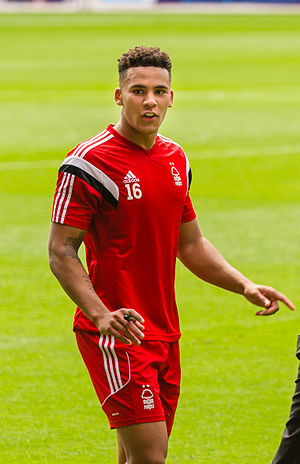 Jamaal Lascelles - Lascelles training with Nottingham Forest in 2014