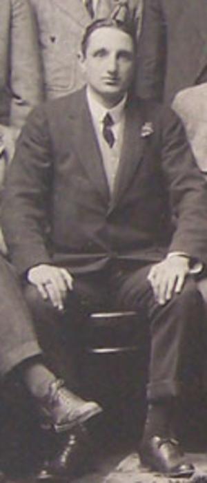James Reid Kerr - James Reid-Kerr with the British Isles team in 1910