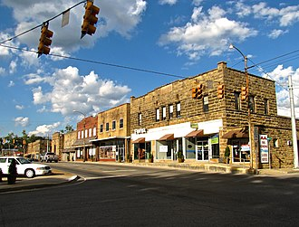 Jamestown, Tennessee - Image: Jamestown Main Street tn 1