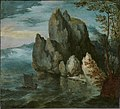 Jan Brueghel the Elder - Seascape with a High Cliff - 2010.40 - Indianapolis Museum of Art.jpg