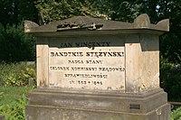 Jan Wincenty Bandtkie's Stężyński's grave.JPG