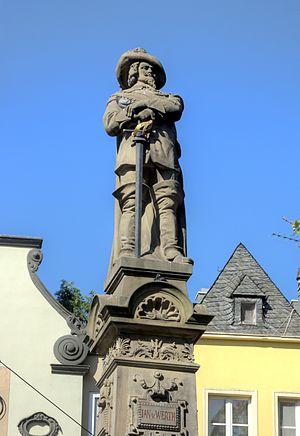 Johann von Werth - Johann von Werth memorial in Cologne