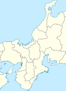 RJBB is located in Kansai region