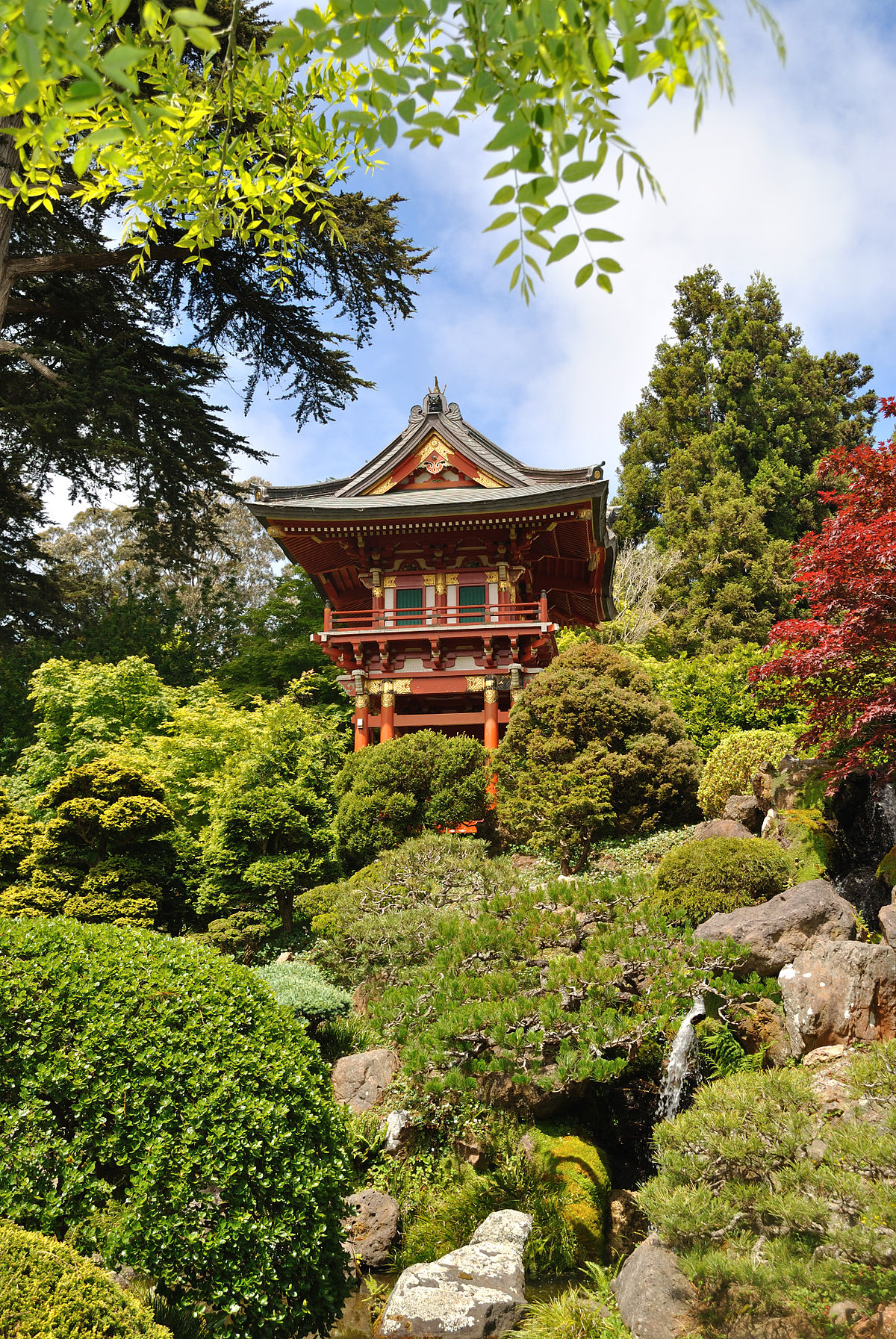 Japanese tea garden san francisco wikipedia for Chinese in the area