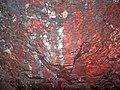 Jaspilite (Soudan Iron-Formation, Neoarchean, ~2.69 Ga; wall near the No. 8 elevator shaft, 27th level of the Soudan Mine, Soudan, Minnesota, USA) 3 (18842771199).jpg