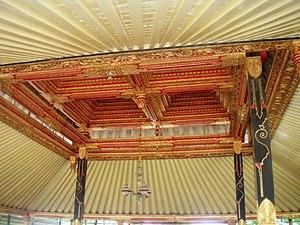 Pendopo - Tumpangan ceiling within a pendopo