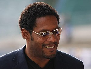 Athletics at the 1994 Goodwill Games - Javier Sotomayor of Cuba set the games record to win the high jump.