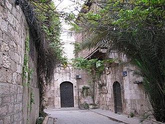 Al-Jdayde - A characteristic 16th-century narrow alleyway of Al-Jdayde